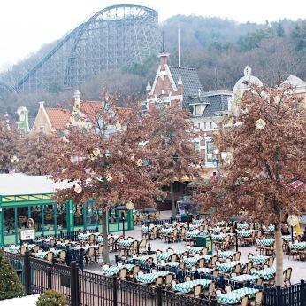 Photo taken at Everland Theme Park.