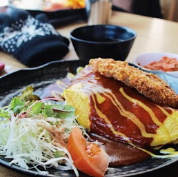 Lunch at N Seoul Tower.