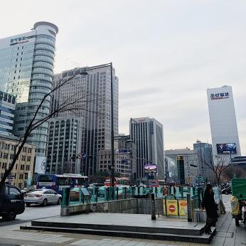 Beautiful city of Seoul
