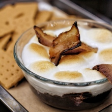 Bacon and S'mores Dip
